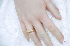 Wedding ring from www.hirschjewellery.dk.   Nordic inspired bridal shoot from Danish wedding journal www.acouple.dk