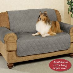 Mason Quilted Microfiber Furniture Protectors