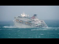 Cruise Ship Caught in Hurricane Storm Hurricane Storm, Packing List For Cruise, Rough Seas, Cheap Cruises, Stormy Sea, Royal Caribbean, Salt And Water, View Source, Spring Break