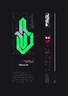 A Style Guide for a Dark Future. Everything is Temporary. Graphic Design Posters, Graphic Design Typography, Graphic Design Inspiration, Logo Design, Graphic Art, Futuristic Fonts, Futuristic Design, Designers Republic, Cyberpunk Art