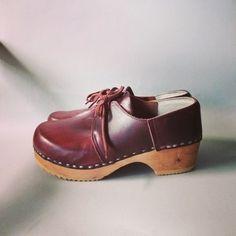 Vintage Krone Clogs