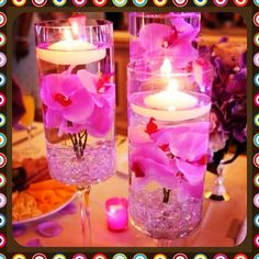 #FloatingCandles #DIY #FloralArt