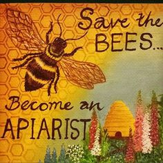 Everyone can be a friend of the #bees  #commonsense #kitchentable #gardeners #wisdom #beekeeper #quote #education #honey #urbanagriculture #legal #beekeeping #CambMa #local #global #art #repost @merryjackdaw  #taniasart #canvas #knowyourfarmer #apiarist #artist #pollinators #crosspollination #harmony #sustainability #green #Massachusetts #community  #FollowTheHoney by followthehoney September 02 2015 at 07:19AM