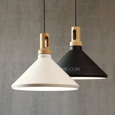Modern Wrought Iron Shade Painting Kitchen Pendant Lights