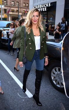 Katie Cassidy out and about in New York
