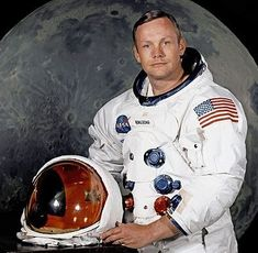 FILE - In undated photo provided by NASA shows Neil Armstrong. The family of Neil Armstrong, the first man to walk on the moon, says he has died at age A statement from the family says he died fo