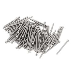 M2.5 x 35mm 304 Stainless Steel Phillips Round Head Screws Bolt 60pcs #Affiliate