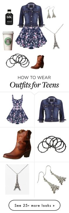"""""""Casual"""" by kenzzzzzzieeee on Polyvore featuring maurices, Frye, Judith Jack and Barbed"""