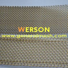 generalmesh 14mesh ,0.5mm wire ,40mm width brass selvage wire mesh ,brass selavage mesh screen ,brass welvage woven wire . Email:  sales@generalmesh.com   skype: jennis01