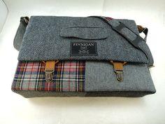 "Herren Messenger bag, Messenger Bag, Mens 15"" Laptop Messenger Bag, Freund Geschenk, Laptopfach, Einkaufstasche, Upcycled Tasche"