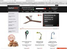 Comprar lámparas y ventiladores online: Internet a nuestros pies