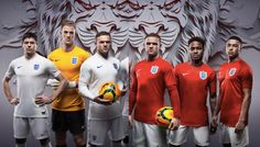Uniforms of the World Cup-England