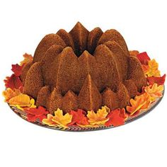 This beautiful but simple cake will add a Little Autumn Spice to any fall gathering. Our pumpkin apple spice cake, paired with some hot cider, will keep the fall chill at bay.