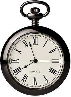 Quartz With David Engraved On Cover no Brand Smart Mens Pocket Watch