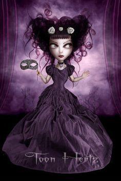 Purple Theater by Toon Hertz