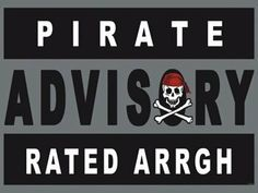 "Pirate Advisory Metal Sign: Pirate Decor Wall Accent by OMSC. $19.50. Glossy, full-color, enamalized imaged baked onto thick, 24-gauge steel. Rounded corners with holes for easy hanging. Eco-friendly process, hand-made in the USA. This sign measures 16"" x 12"" (400 mm x 300 mm). Ships in Ploy-bag for complete protection. The ""Pirate Advisory Metal Sign"" is hand-made in America. These sturdy metal signs will perfectly accent any kitchen, home, bar, pub, game room, of..."