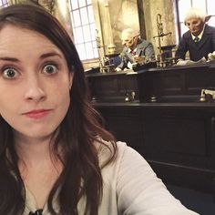 Casually opening an account at Gringotts like it's no big deal.