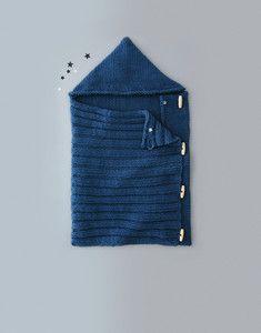 Aper u patron tricot nid d ange b b 239 259 no 2 pinterest tric roupas - Patron nid d ange bebe gratuit ...