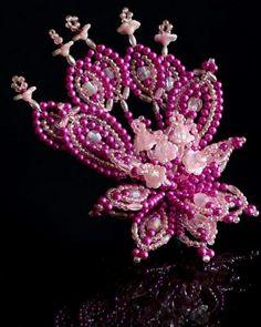 Flor de  Penca tembleque, hecho por Maria Limchin
