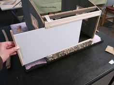 Adding a removable wall to enclose the back.