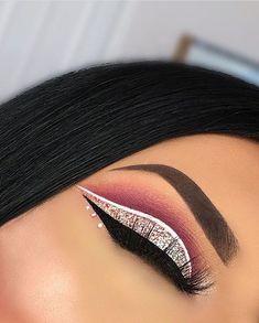 Eye Makeup Tips – How To Apply Eyeliner – Makeup Design Ideas Makeup Eye Looks, Cute Makeup, Smokey Eye Makeup, Glam Makeup, Gorgeous Makeup, Makeup Inspo, Eyeshadow Makeup, Makeup Art, Makeup Inspiration
