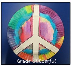 Grade ONEderful: Peace Plate Craft Remembrance Day Remembrance Day art ideas, writing freebie and clipart. Kindergarten to Grade Remembrance Day Activities, Remembrance Day Poppy, Harmony Day Activities, Art Activities, Kindergarten Art, Preschool Art, Paper Plate Poppy Craft, Poppy Craft For Kids, Peace Crafts