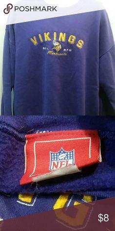 🏈 Vikings sweatshirt, size XL NFL Vikings sweatshirt, size XL unknown Shirts Sweatshirts & Hoodies