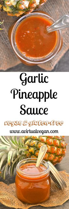 Get your coconut shell bikini & grass skirt ready because when you try this super tangy, sweet & spicy Garlic Pineapple Sauce you will want to dance around your kitchen in true Hawaiian style! Great in stir fries, as a marinade, on rice bowls or as a dipping sauce & ready in less than 10 mins! via @avirtualvegan