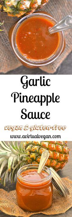 Garlic Pineapple Sauce
