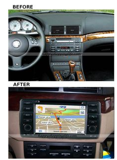 Install BMW E46 DVD Player with GPS Navigation CAN Bus Bluetooth TV IPOD  http://www.happyshoppinglife.com/bmw-e46-dvd-player-with-gps-navigation-can-bus-bluetooth-tv-ipod-p-510.html