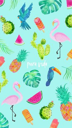 New Wallpaper Summer Beach Pura Vida 20 Ideas Wallpaper World, Wallpaper For Your Phone, Trendy Wallpaper, Screen Wallpaper, Cool Wallpaper, Pattern Wallpaper, Cute Wallpapers, Beachy Wallpaper, Cute Backgrounds