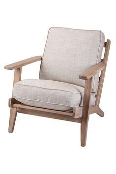 Modern Classic Leisure Linen Armchair. Lounge ChairsModern ...