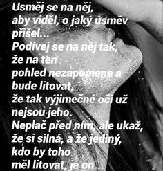 Krásný a 100% pravdivý citát, vezmu si ho k srdci děkuji Sad Quotes, Love Quotes, Secret Love, Together Forever, Sad Love, True Words, Wallpaper Quotes, Motto, Picture Quotes