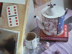 Spots! Spotty Teapot by Virginia Graham (via Many Cha Cha blog)