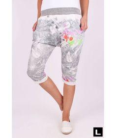 Teplákové kraťasy s pudlom šedé Bermuda Shorts, Women, Fashion, Moda, Fashion Styles, Fashion Illustrations, Shorts, Woman