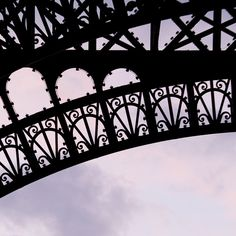 Details of Eiffel Tower ~ Beautiful!