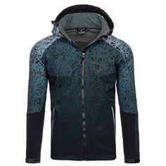 Moderní pánské jarní bundy černé barvy - manozo.cz Hooded Jacket, Athletic, Jackets, Fashion, Manish, Moda, Jacket With Hoodie, Athlete, Fashion Styles