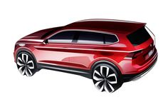 Volkswagen Tiguan Allspace Design Sketch