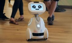 Buddy the robot is 'more useful than an iPhone' [Video] |  Buddy's creators believe the companion robot will be as ubiquitous as smartphones in the future. [The Future of Robots: http://futuristicnews.com/category/future-robots/]