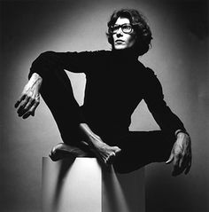 Yves Saint Laurent by Jeanloup Sieff