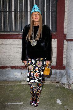 Anna dello Russo Anna Dello Russo..attends the Maison Martin Margiela  show as part of Paris Fashion Week Haute Couture Spring/Summer 2014> ...