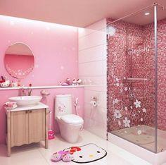 Hello Kitty Shower Bathroom Set (484×480) | Kids Info | Pinterest | Hello  Kitty Rooms And Room
