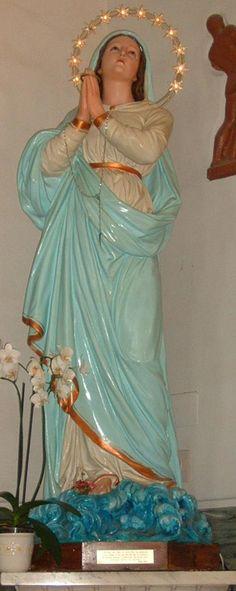 stella maris | Statua della Madonna Stella Maris