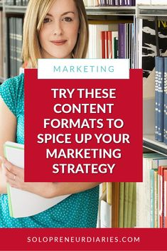 Add variety to your content strategy by using different content formats. Creating or repurposing content in different ways will attract a wider audience. Content Marketing Tools, Online Marketing Strategies, Social Media Content, Social Media Tips, Marketing Ideas, Media Marketing, Make An Infographic, Learning Styles, Make Money Blogging
