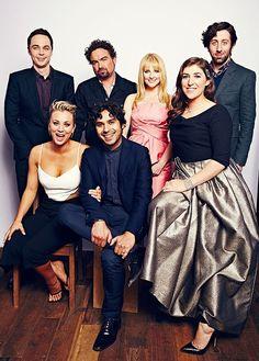 The Big Bang Theory Cast: 2015 PCA's Portrait