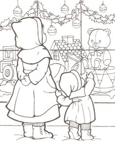 Classic Christmas Coloring Pages 4 | Christmas coloring pages ...