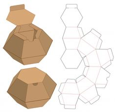 Instruções Origami, Paper Crafts Origami, Diy Paper, Paper Art, Paper Gifts, Diy Gift Box, Diy Box, Gift Boxes, Box Packaging