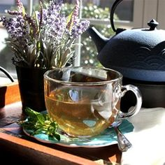 """Lavender Mint Tea 