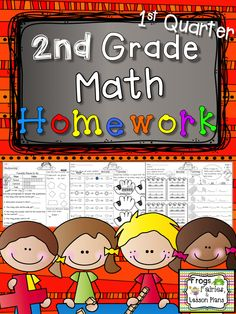 Help your students remember skills from each of the Math Common Core Standards! This math homework reviews a different skill each day of the week. Save time and paper - print 9 pages for 9 weeks!