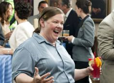Melissa McCarthy.  This pic makes me smile every time I see it.